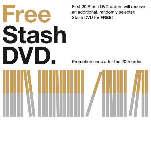 Buy Stash, Get Free Stash!