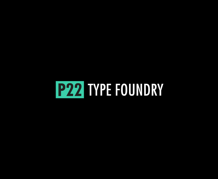 Download P22 Fonts Starting From $9
