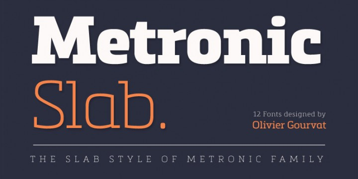 Metronic Slab Pro, designed by Mostardesign
