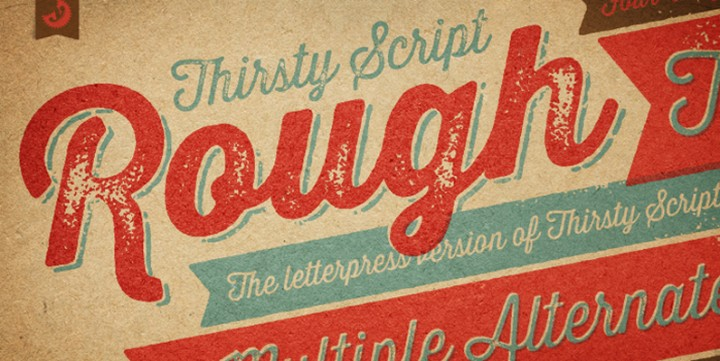 Thirsty Rough, designed by Yellow Design Studio.
