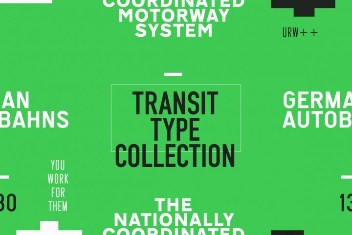 The URW Transit Type Collection