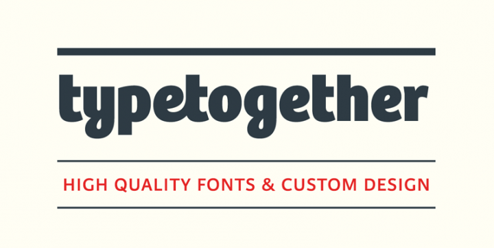 TypeTogether, Now at YouWorkForThem + On Sale