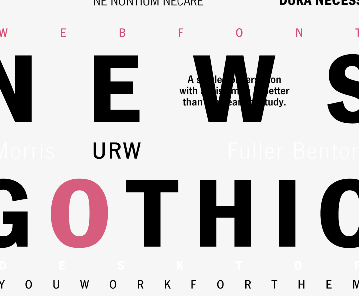 news-gothic-font