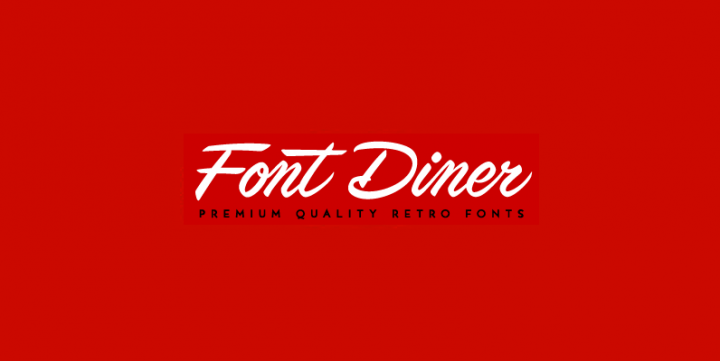 Download Select Font Diner Fonts for $11