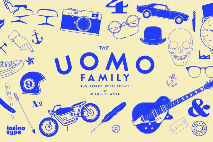 Uomo Font by LatinoType