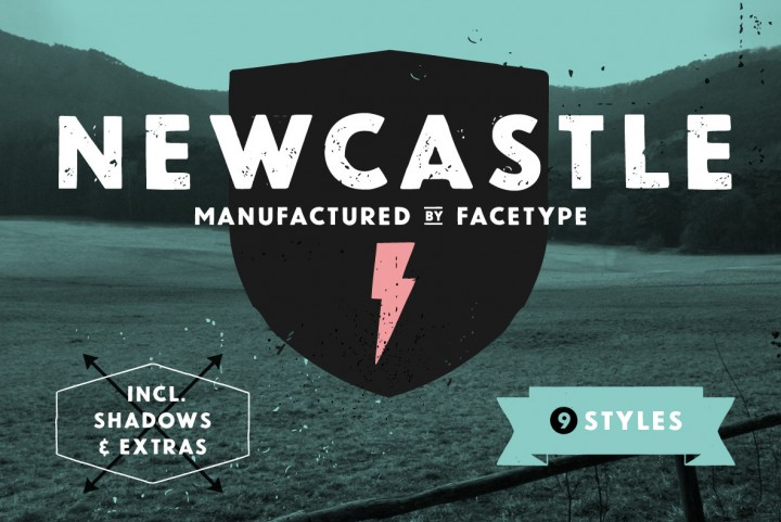 Newcastle by FaceType