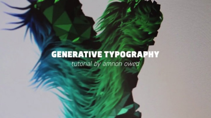 Generative Typography by Amnon Owed