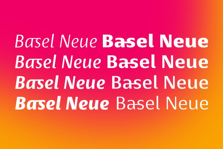 Basel Neue by Isaco Type