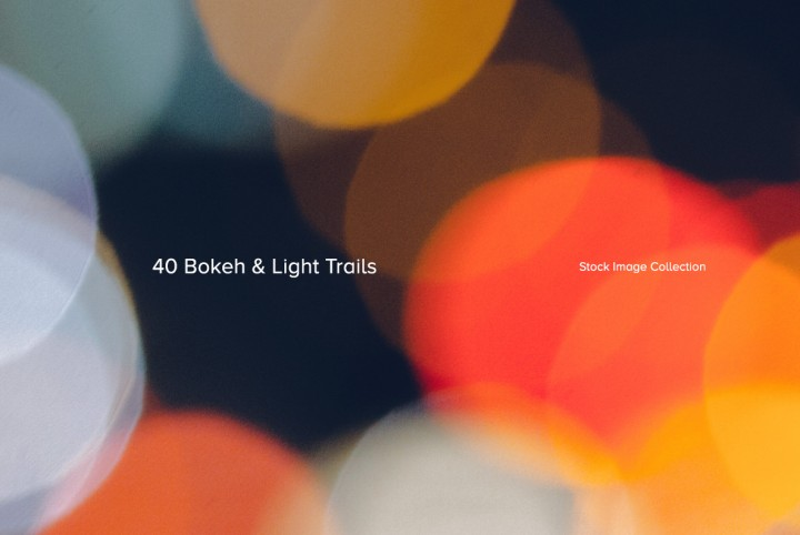 Download 40 Bokeh & Light Trails for $9
