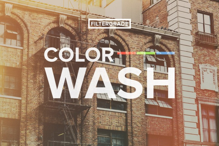ColorWash - Photoshop Actions by Filter Grade