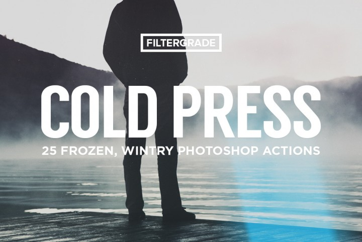 ColdPress - Winter Photoshop Actions