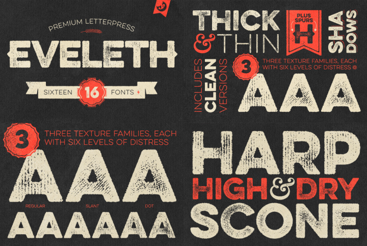 Incorporating Distressed Fonts Into Your Designs