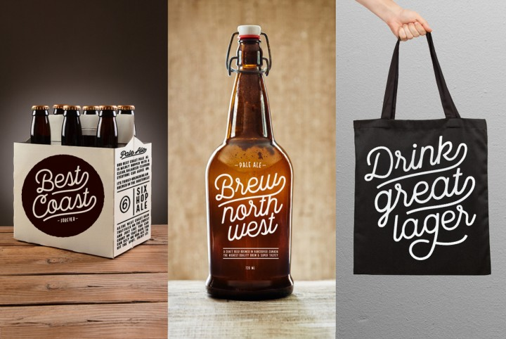 A Font Designed for Microbreweries