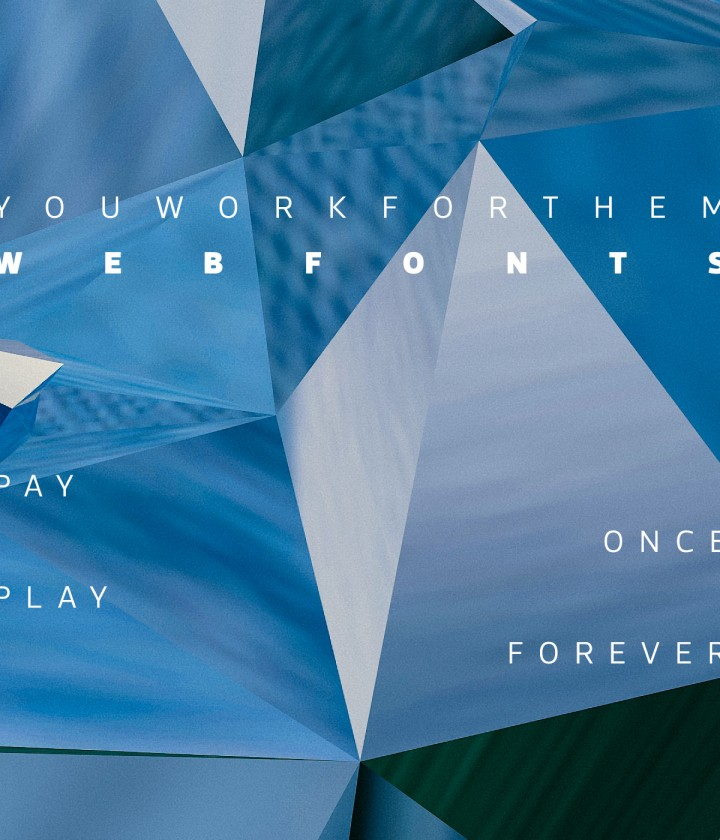 YouWorkForThem WebFonts: Pay Once, Play Forever.